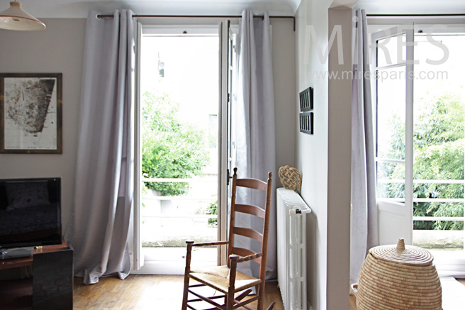 Suite parentale avec balcon c1046 mires paris for Suite parentale avec verriere