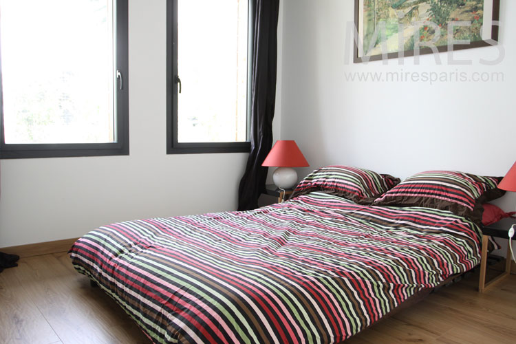 Room with stripes. C1060