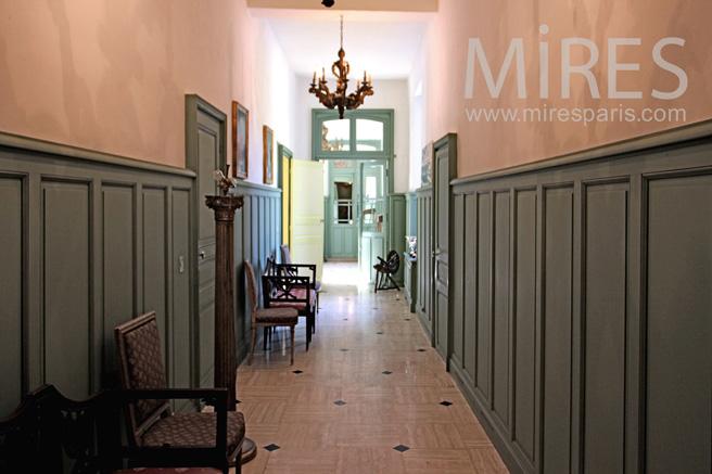 Couloirs du rez de chauss e c1075 mires paris - Rez de chaussee paris ...