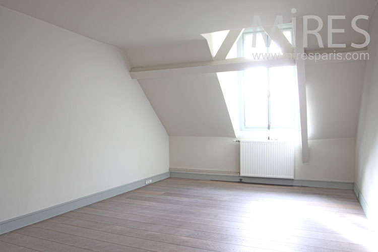 Empty attic room. C1094