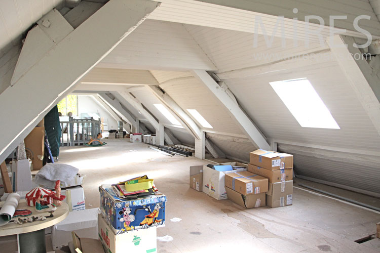 Large renovated attic. C1094