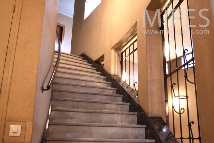 Stairs and corridors. C1107