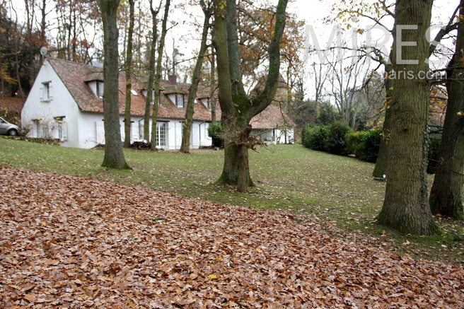 Farmhouse in the heart of the forest. C1112