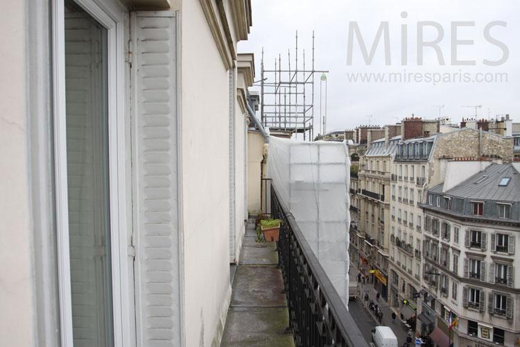 Balcon filant. C1114