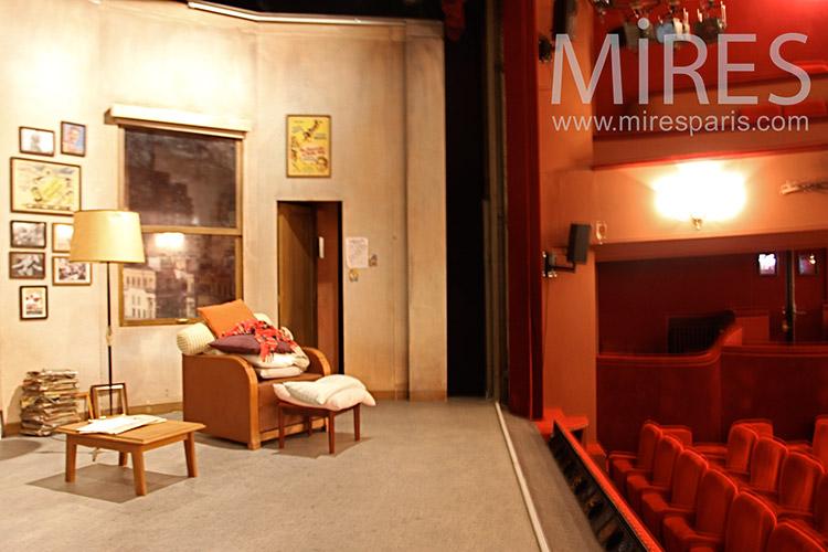 Scène de théâtre. C1126