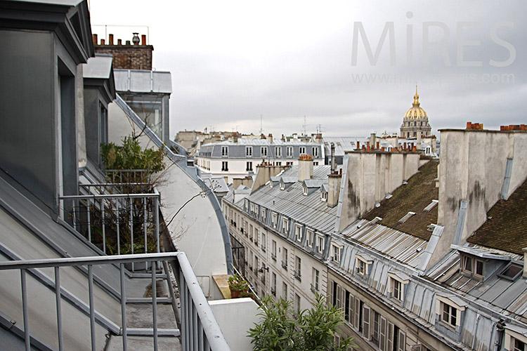 Terrasse parisienne. C1128