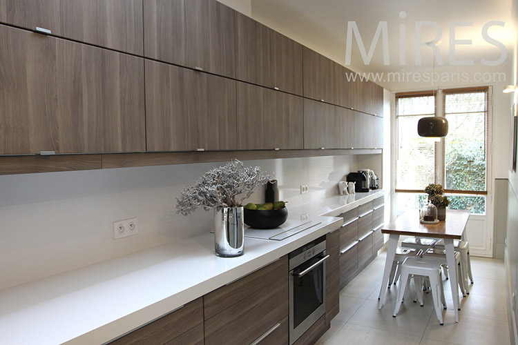 Cuisine Moderne Tout En Longueur C1148 Mires Paris