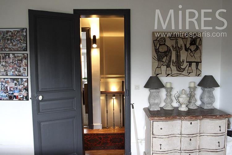 Chambre parentale avec coin bureau. C1148 | Mires Paris