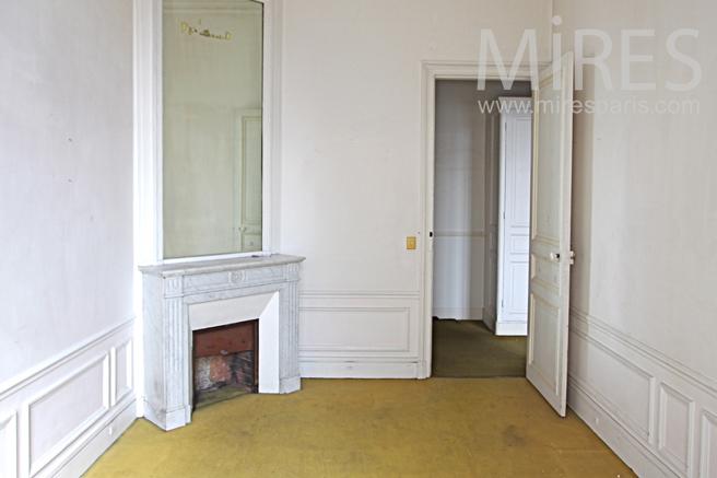 Corner bedroom. C1146