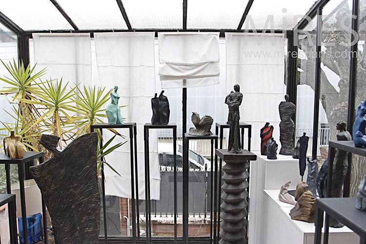 Sculpture exhibition. c1161