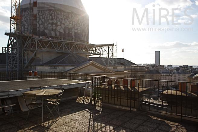 Terrasse panoramique. C1163