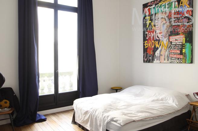 Bedroom with balcony. C1165