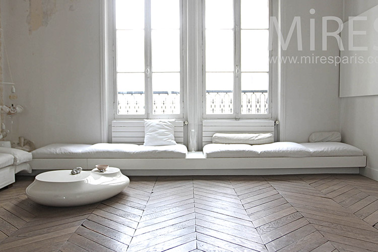 Flurry white for style apartment. C1182