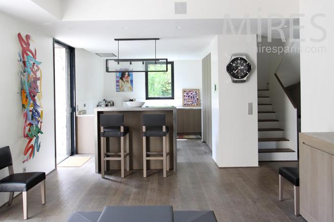 Open kitchen. C1184
