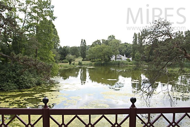 Lac bucolique. C1212