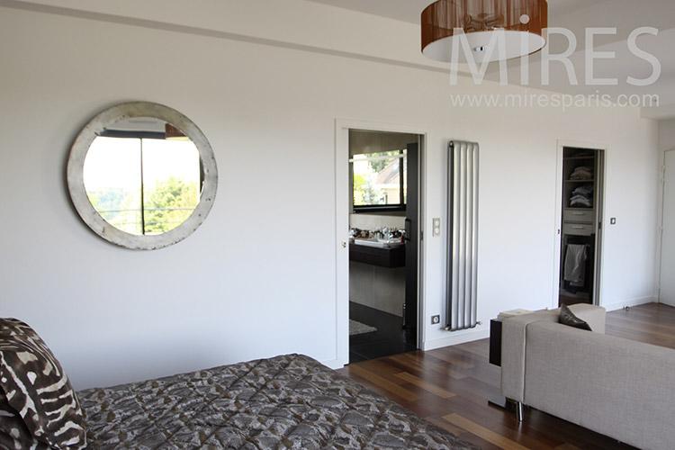 Grande chambre parentale avec bains et dressing. C1217   Mires Paris