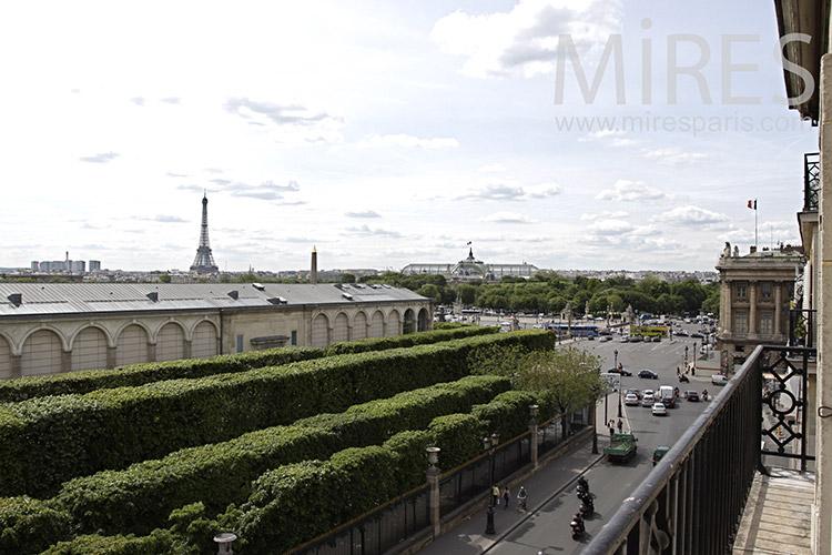 Aux jardins de Paris. C0065