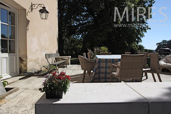 Sunny terrace. C1225
