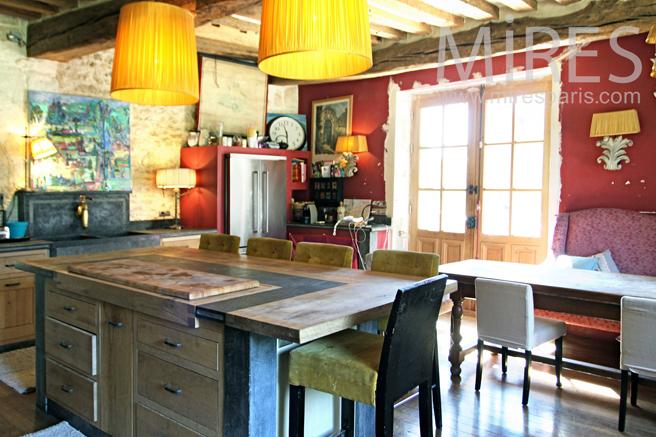 Cuisine colorée, entre modernité et traditions. C1225 | Mires Paris
