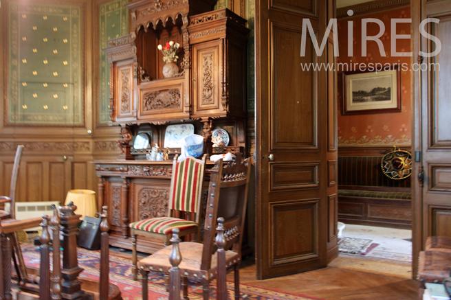 Wooden room. C1235
