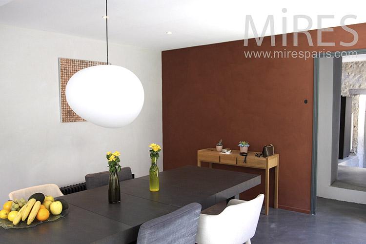 Quiet dining room. C1238
