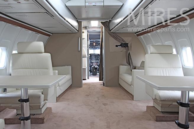 Avion pour voyage présidentiel. C1239