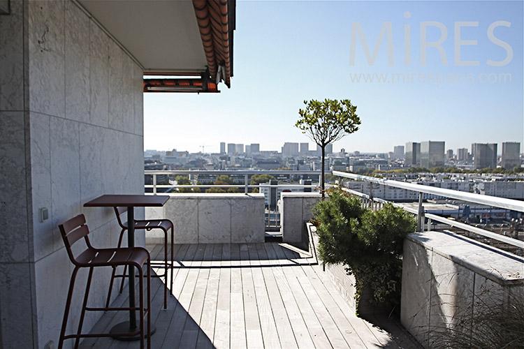 Terrasse sur Paris. C1248