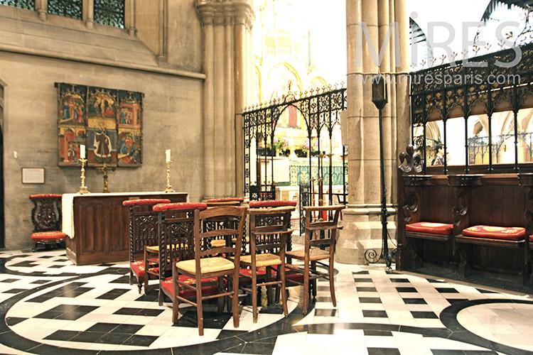 Chapelle latérale. C1253
