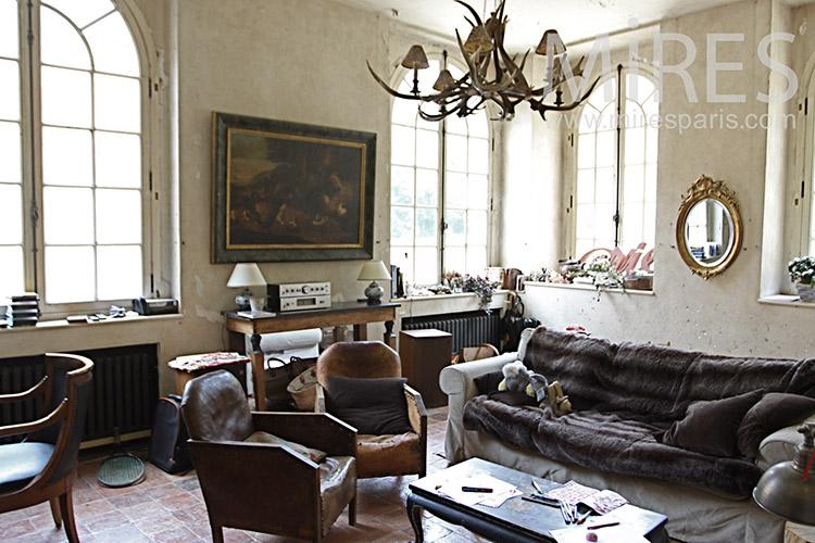 English motley lounge. c0036
