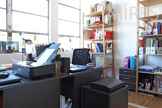 bureau au calme c1247 mires paris. Black Bedroom Furniture Sets. Home Design Ideas