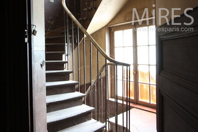 Service staircase. C1251