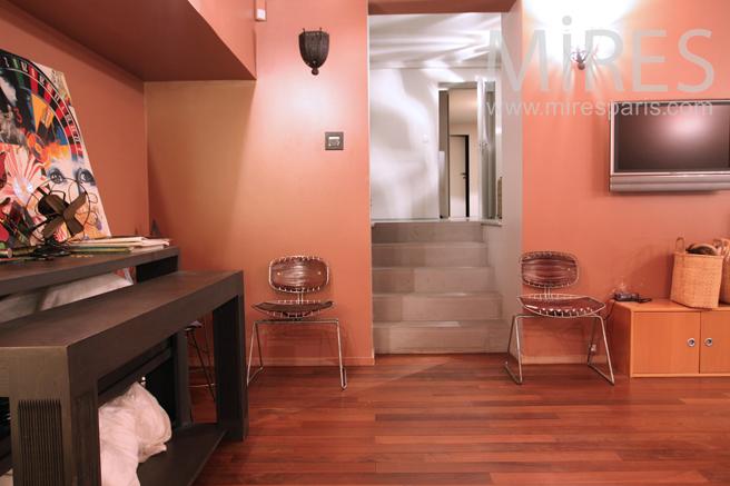 remise en forme au sous sol c1256 mires paris. Black Bedroom Furniture Sets. Home Design Ideas