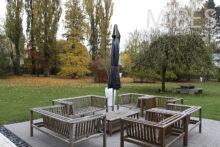 Salle de bain ouverte sur le jardin. C1266   Mires Paris