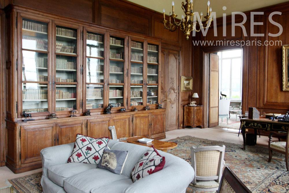 Bureau salon, amibance bois. C1283
