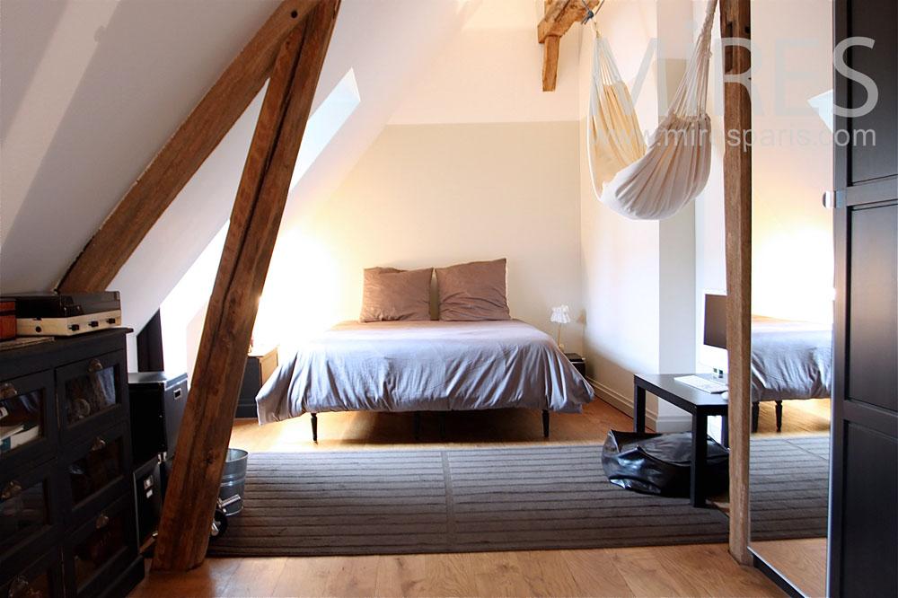 Chambre D Adulte Sous Les Toits C1284 Mires Paris
