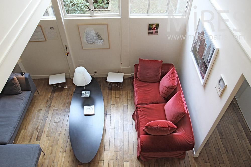 Petit salon de velours. C1285