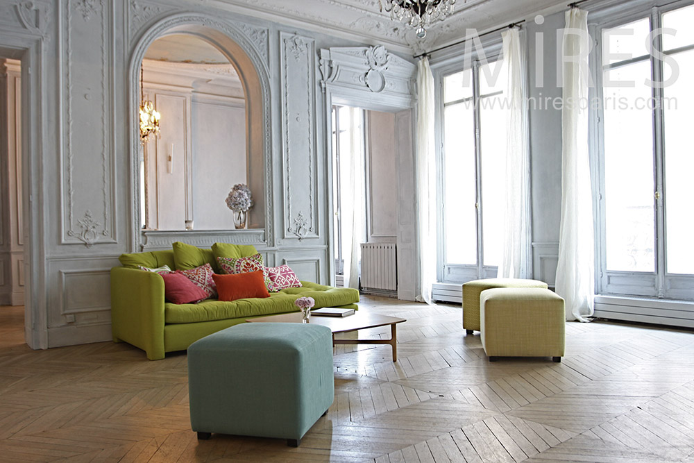 appartement parisien id al c0101 mires paris. Black Bedroom Furniture Sets. Home Design Ideas