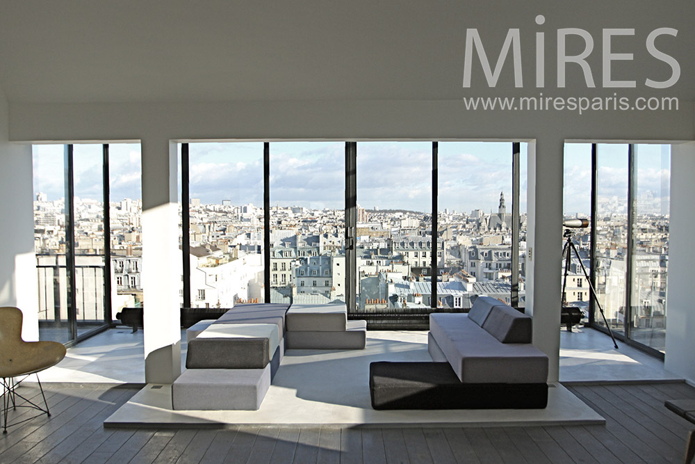 baie vitr e mires paris. Black Bedroom Furniture Sets. Home Design Ideas