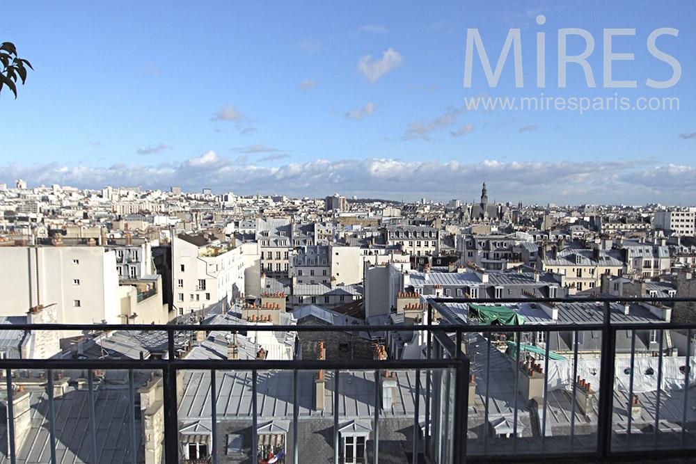 Terrasse romantique C0102 Mires Paris