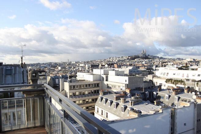 La plus belle vue de paris c0102 mires paris for Club piscine entrepot