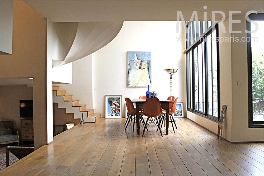 salle manger mires paris. Black Bedroom Furniture Sets. Home Design Ideas