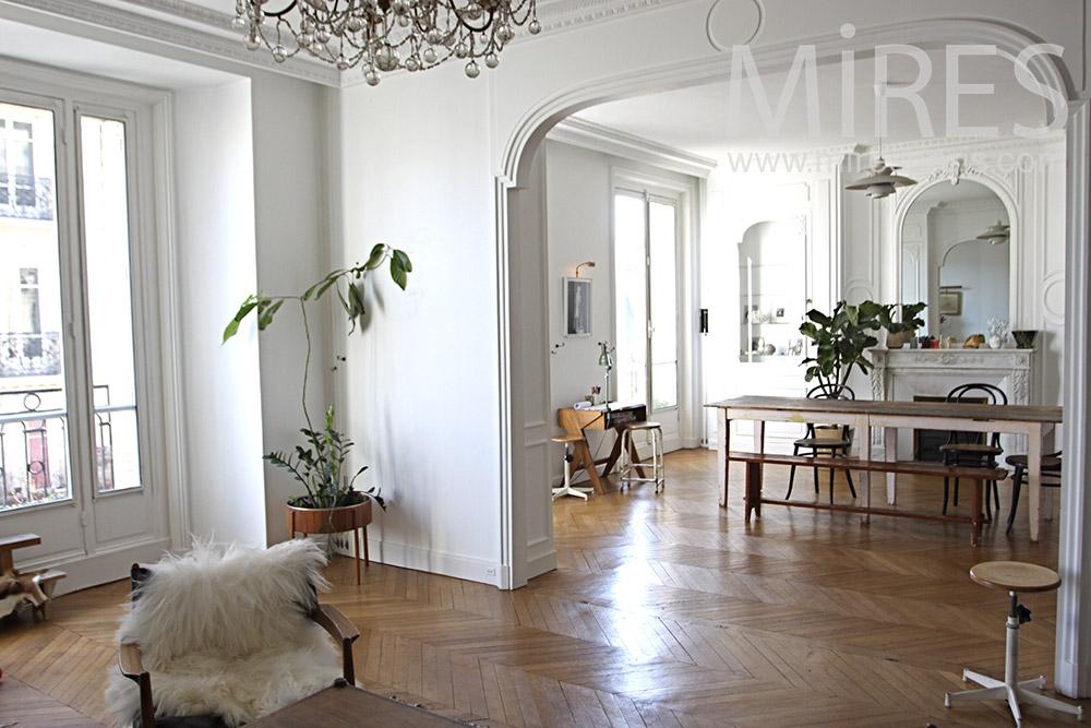 Appartement Parisien Classique C0940 Mires Paris