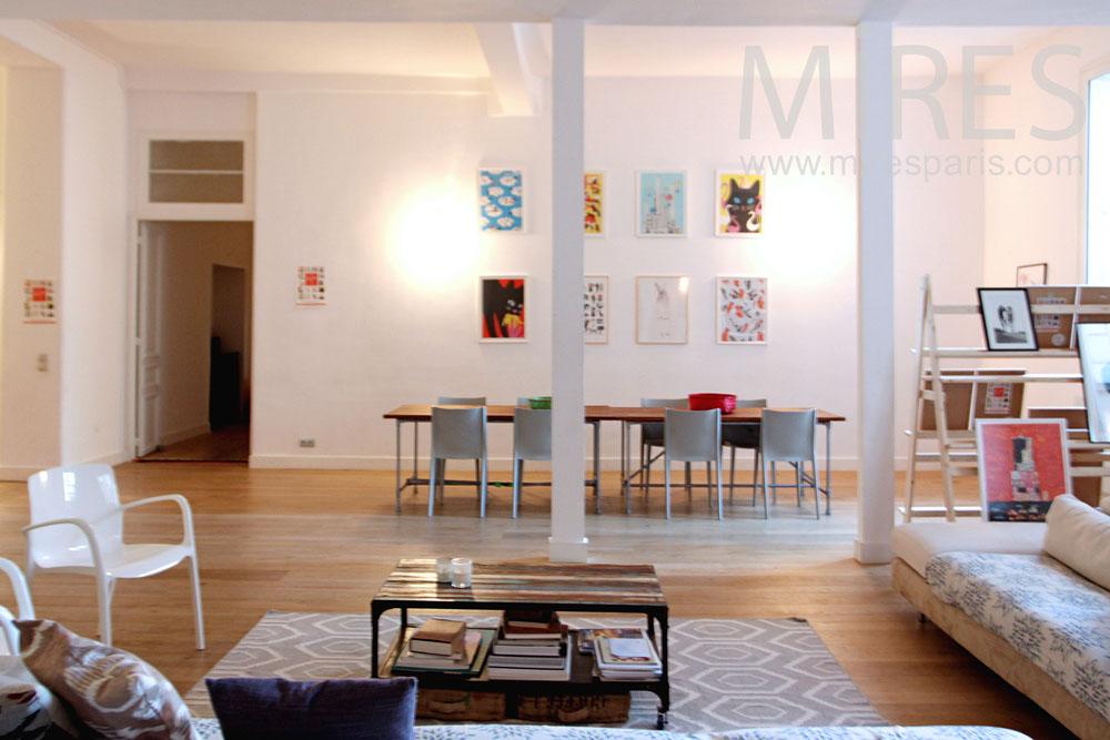 salle manger pour tous c1291 mires paris. Black Bedroom Furniture Sets. Home Design Ideas
