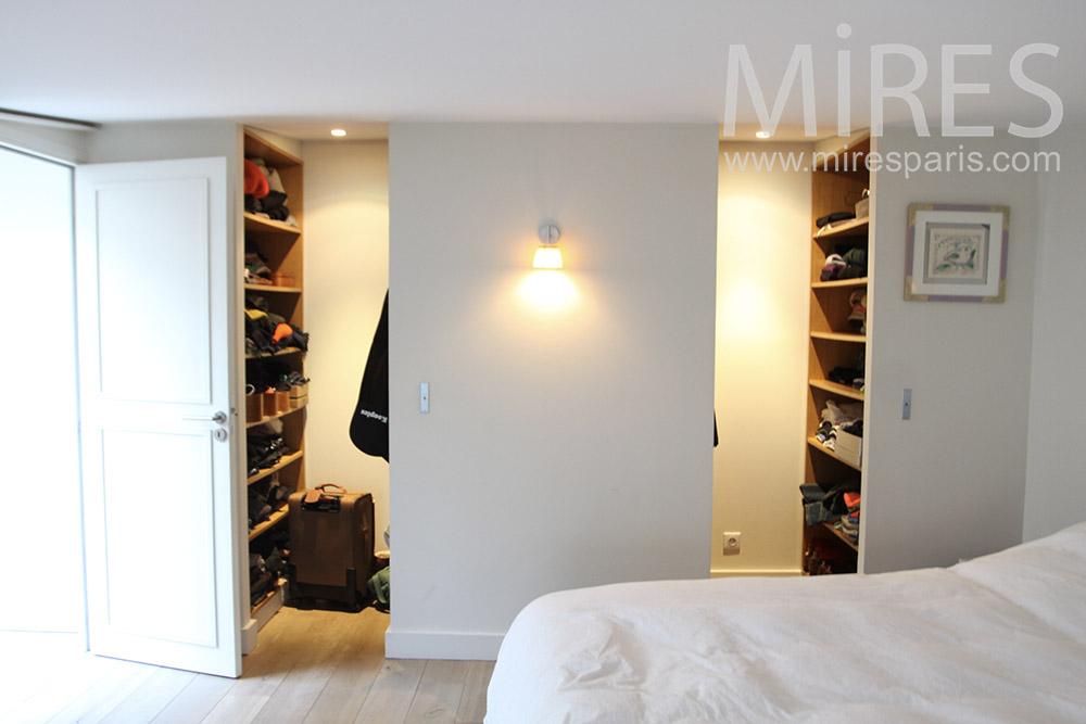 Chambre avec dressing. C1294 | Mires Paris