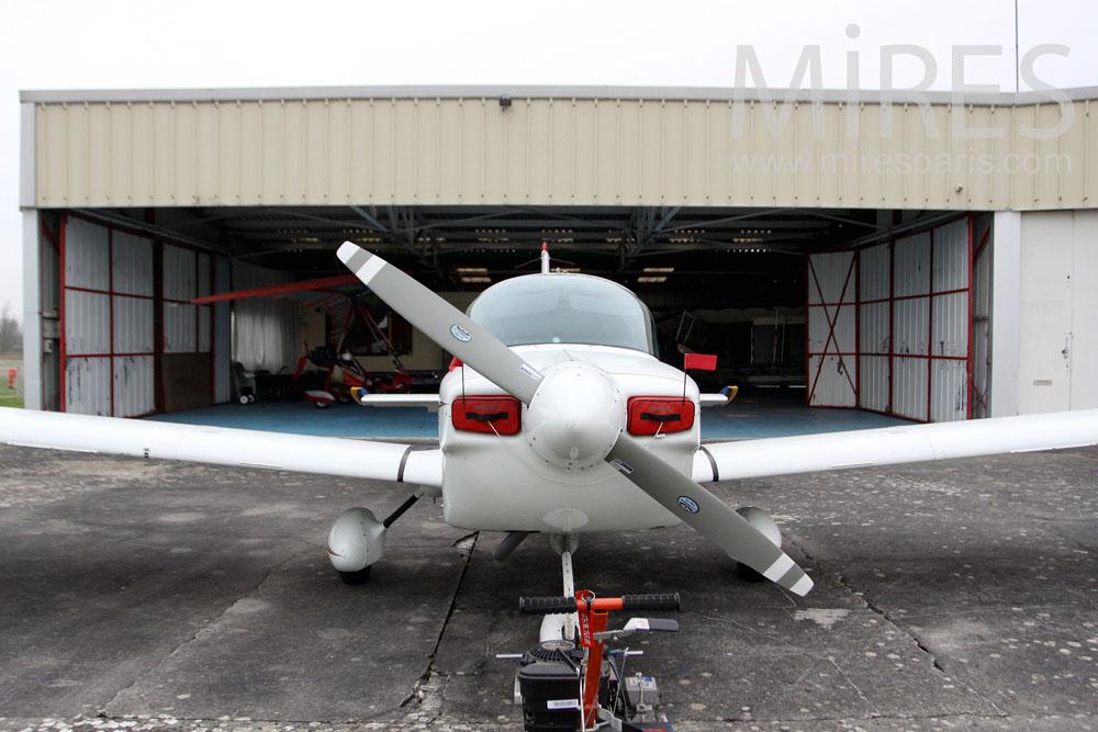 Hangar principal. C1308
