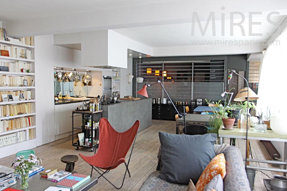Loft familial dans Paris. C1311