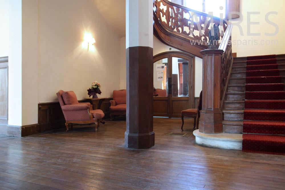 Escalier d'apparat. C1321
