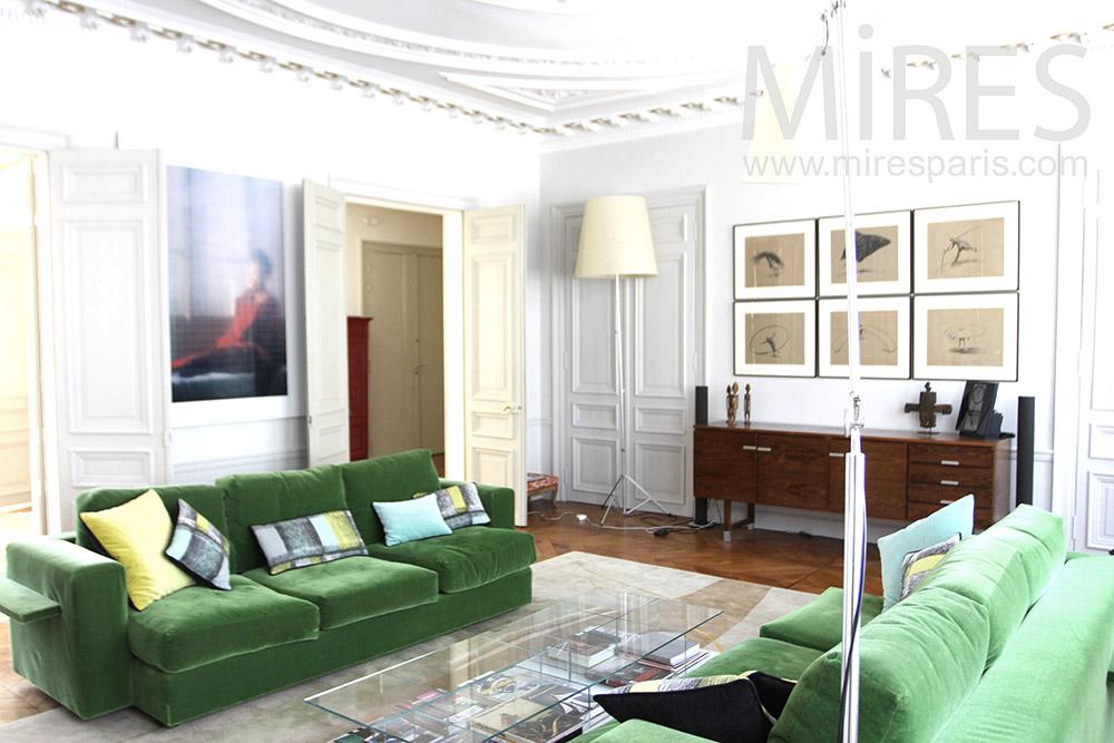 Appartement familial classique. C1323
