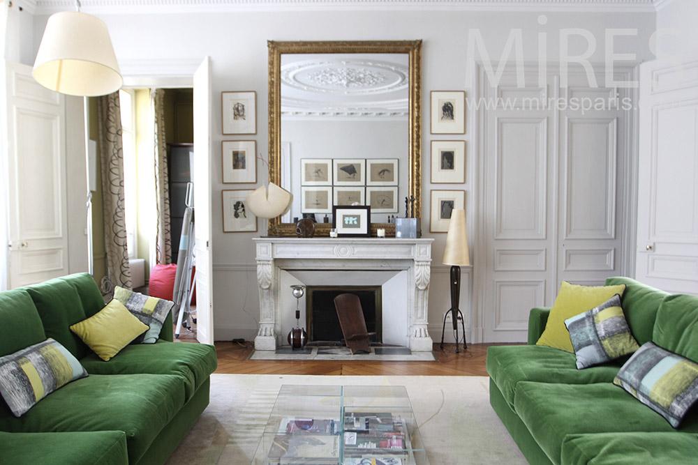 Beaux salon parisien. C1323