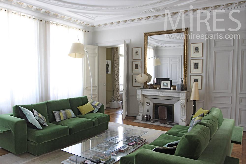 beaux salon parisien c1323